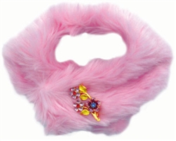 Faux Mink Stole Pink by Ruff Ruff Couture®