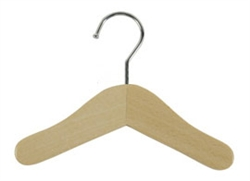 "Wood & Chrome 6"" Hangers by Ruff Ruff Couture®"