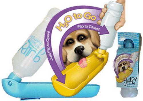 Gulpy Pet Water Dispenser, 20 oz.