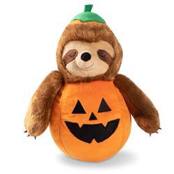 Sloth-O-Lantern Plush Dog Toy
