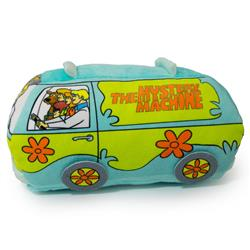 Dog Toy Squeaker Plush - Scooby Doo Group in Mystery Machine Van