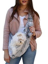 Adjustable Furbaby Sling bag, Frosted NIght