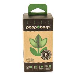 The Original Poop Bags® USDA Biobased Countdown Rolls® (120 CT) Box