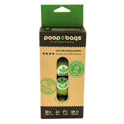 You Buy; We Donate® Jane Goodall Institute Compostable 4-Roll (60 CT) Pack