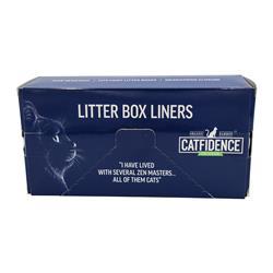 Catfidence Litter Box Liners (10 CT) Box