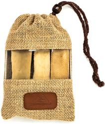 Premium Yak Milk Dog Chews - Jumbo Value Pack - 3 Count Bag