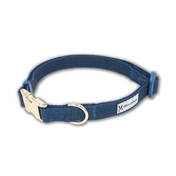 Blue Fabric Dog Collars & Leashes by Warren London