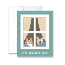 Wish You Were Here - Package of Six Greeting Cards