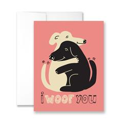 I WOOF You - Package of Six Greeting Cards