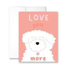 Love You More - Package of Six Greeting Cards