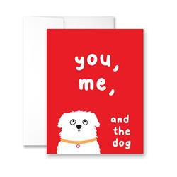 You, Me & The Dog - Package of Six Greeting Cards
