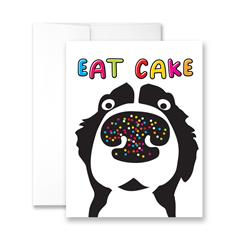 Eat Cake - Package of Six Greeting Cards