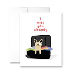 I Miss You Already - Package of Six Greeting Cards