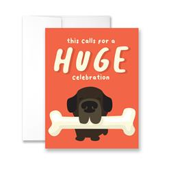 This Calls For A Huge Celebration - Package of Six Greeting Cards