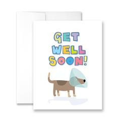 Get Well Soon - Package of Six Greeting Cards