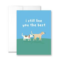 I Still Like You The Best - Package of Six Greeting Cards