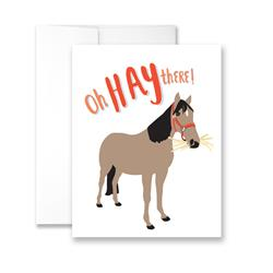 Oh HAY There! - Package of Six Greeting Cards