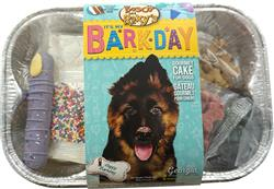 Bake Your Own Barkday Cake, 6/Case, Happy Bark-Day