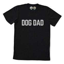 DOG DAD -  BLACK TSHIRT