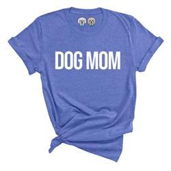 DOG MOM - SPRING BLUE TSHIRT