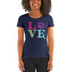 LOVE Women's Scoop Neck T-Shirt