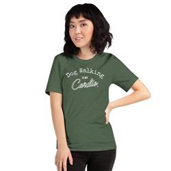 Dog Walking Is My Cardio Unisex T-Shirt