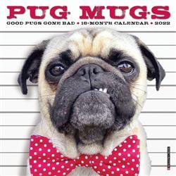 Pug Mugs 2022 Mini Calendar