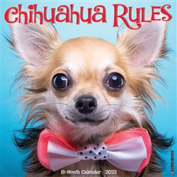 Chihuahua Rules 2022 Wall Calendar