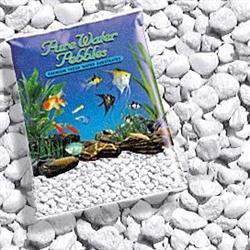 Pure Water Pebbles Nature's Ocean Aquarium Gravel Platinum White Gravel 5-lb - COPY - COPY