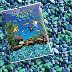 Pure Water Pebbles Nature's Ocean Aquarium Gravel Blue lagoon Gravel 5-lb - COPY - COPY