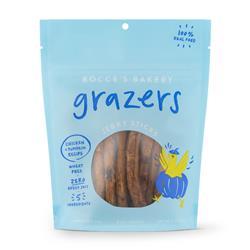 Grazers Chicken & Pumpkin Jerky Sticks, 4 oz Bags