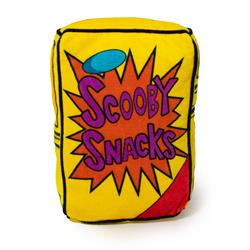 Dog Toy Squeaker Plush - Scooby Doo Scooby Snacks