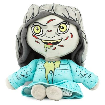 Dog Toy Squeaker Plush - The Exorcist Regan 3-D Standing Pose