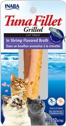 Churu Grilled Fillets - Tuna In Shrimp Flavored Broth - 0.52 Oz