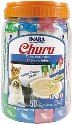 Churu Purée Tuna Varieties 50 Tubes - 25 Oz (0.5 Oz X 50T)