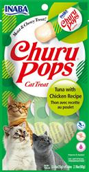 Churu Pops - Tuna With Chicken Recipe - 2.16 Oz (0.54 Oz X 4T)