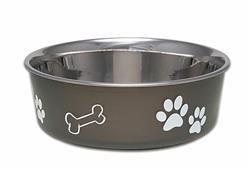 Loving Pets Bella Bowl Pet Water Bowl - Espresso