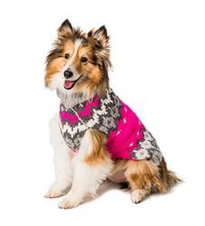 Hot Pink Ski Sweater