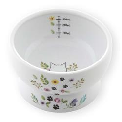Raised Cat Water Bowl (Botanical Garden Limited Edition)