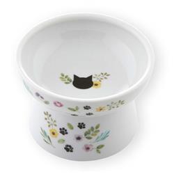 Raised Cat Food Bowl (Botanical Garden Limited Edition)