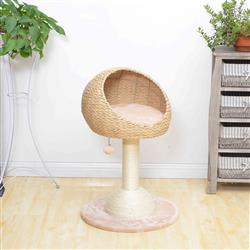 PREORDER-Petpals, Lookout Cat Tree With Sisal Scratching Posts and Perch