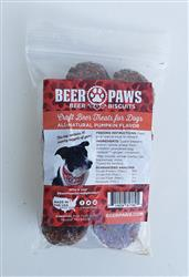 Pumpkin Beer Biscuits for Dogs - Snack Packs (10 Biscuits)