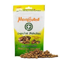 Meowijuana® - Crunchie Munchie - Chicken & Herb Treats - Case Pack - 8/case