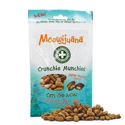 Meowijuana® - Crunchie Munchie - Seafood Medley Treats - Case Pack - 8/case