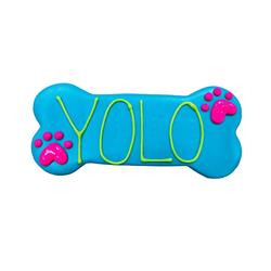"""YOLO 6"""" Bone Shape Dog Cookie"""