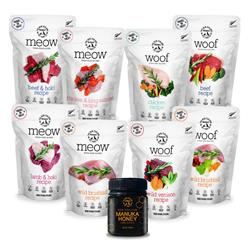 New Zealand Program #1: Starter Kit A - Raw Treats & Meal Toppers