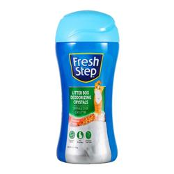 Fresh Step Litter Box Scent Crystals in Summer Breeze, 15oz