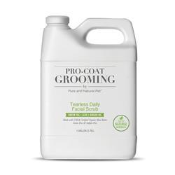 Pro-Coat Tearless Daily Facial Scrub (Green Tea • Aloe • Argan Oil)