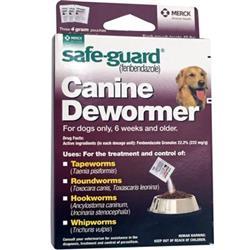 Safe-guard Canine Dewormer (3 x 4-gram packets)