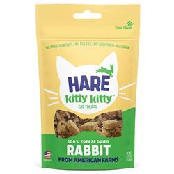 Kitty Kitty Hare Freeze Dried Rabbit Treat .9oz